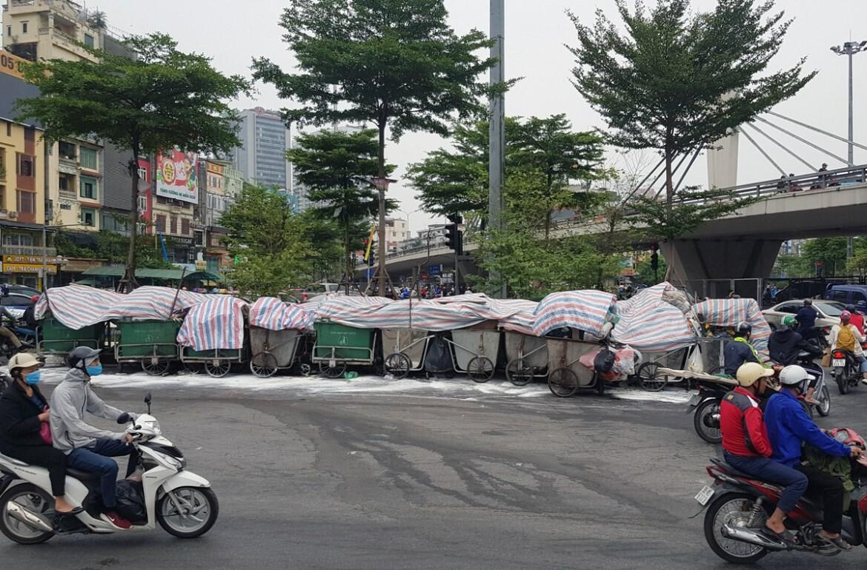 Вокруг Ханоя скапливается мусор