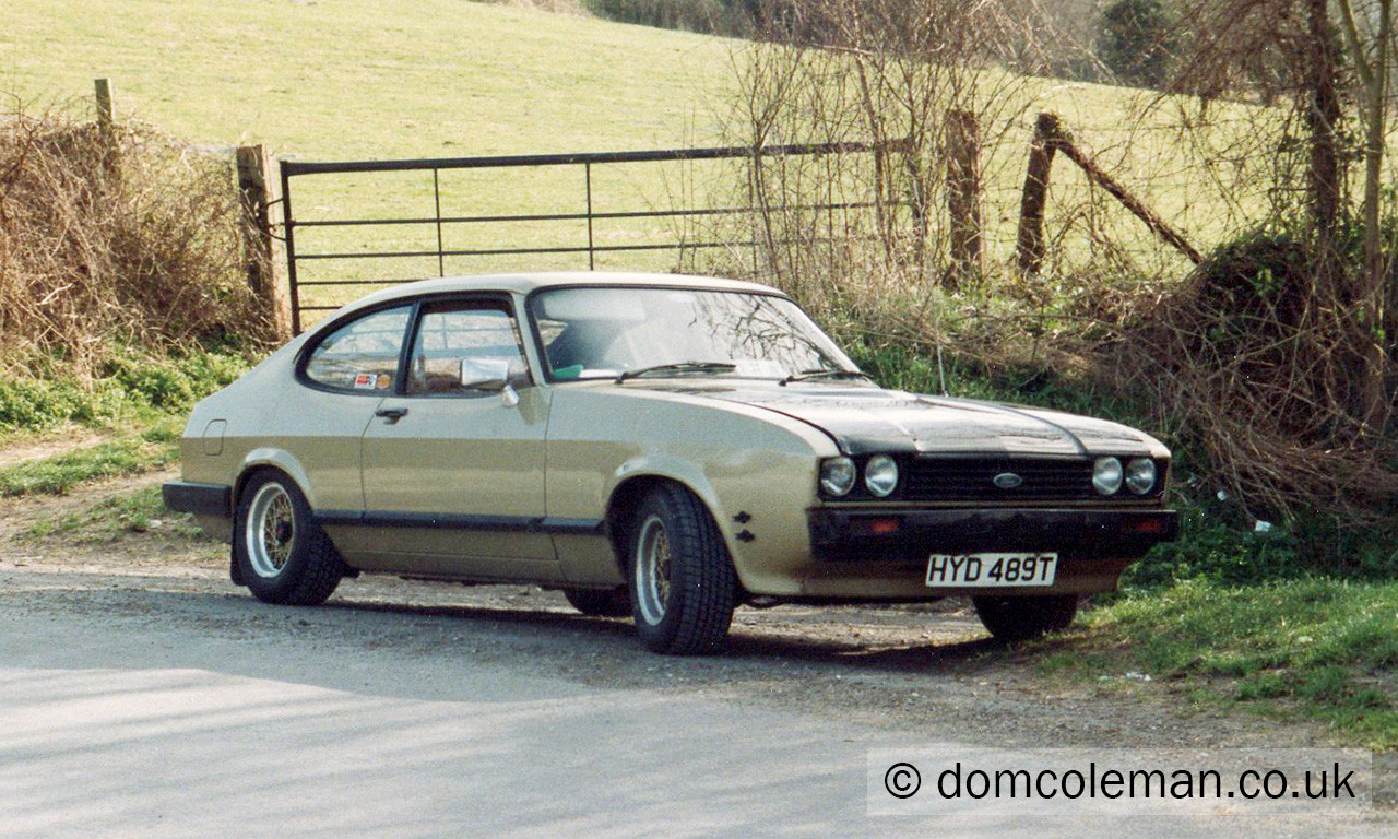1979 Ford Capri 2.0 GL - Dec 1992