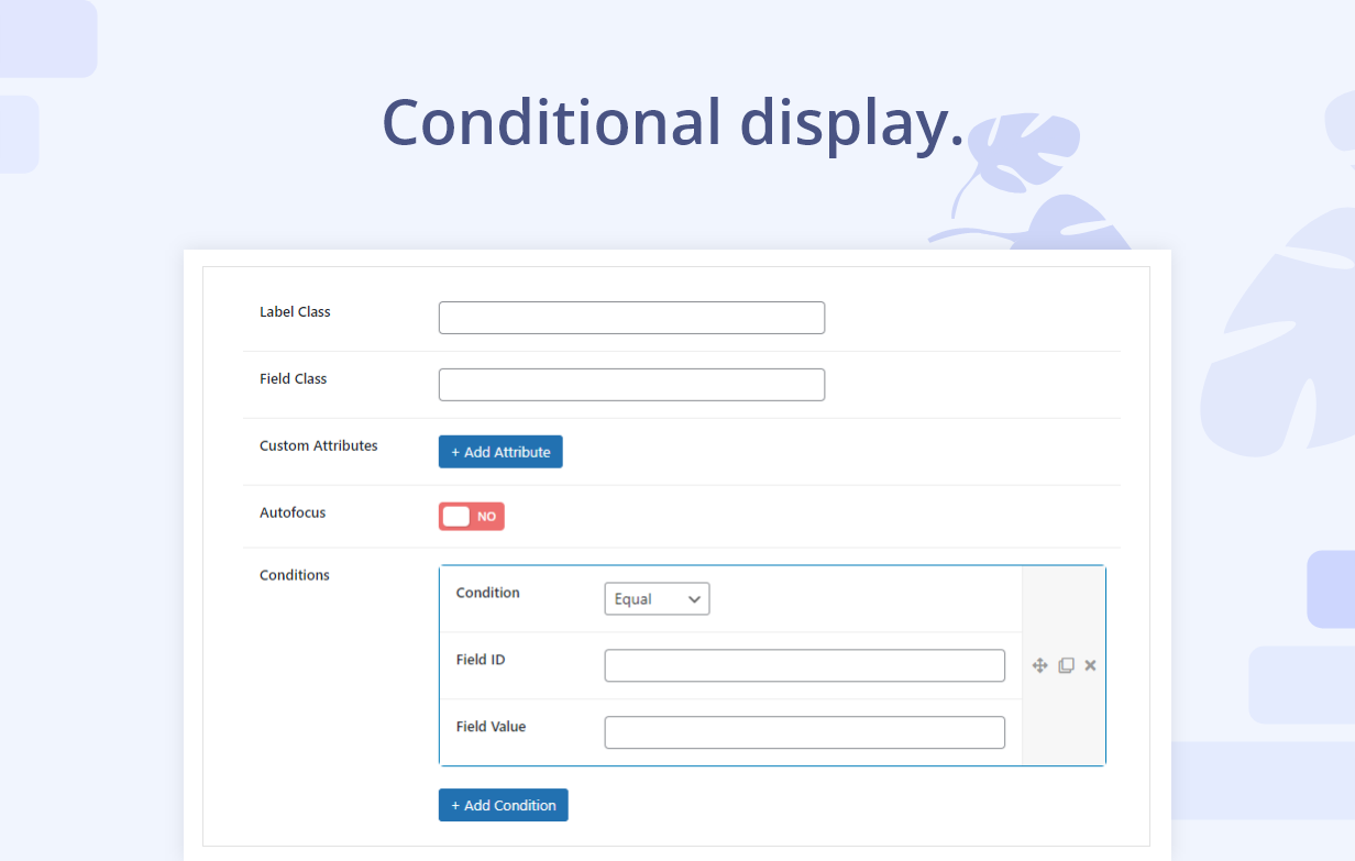 WooCommerce Custom Registration Fields | Conditional