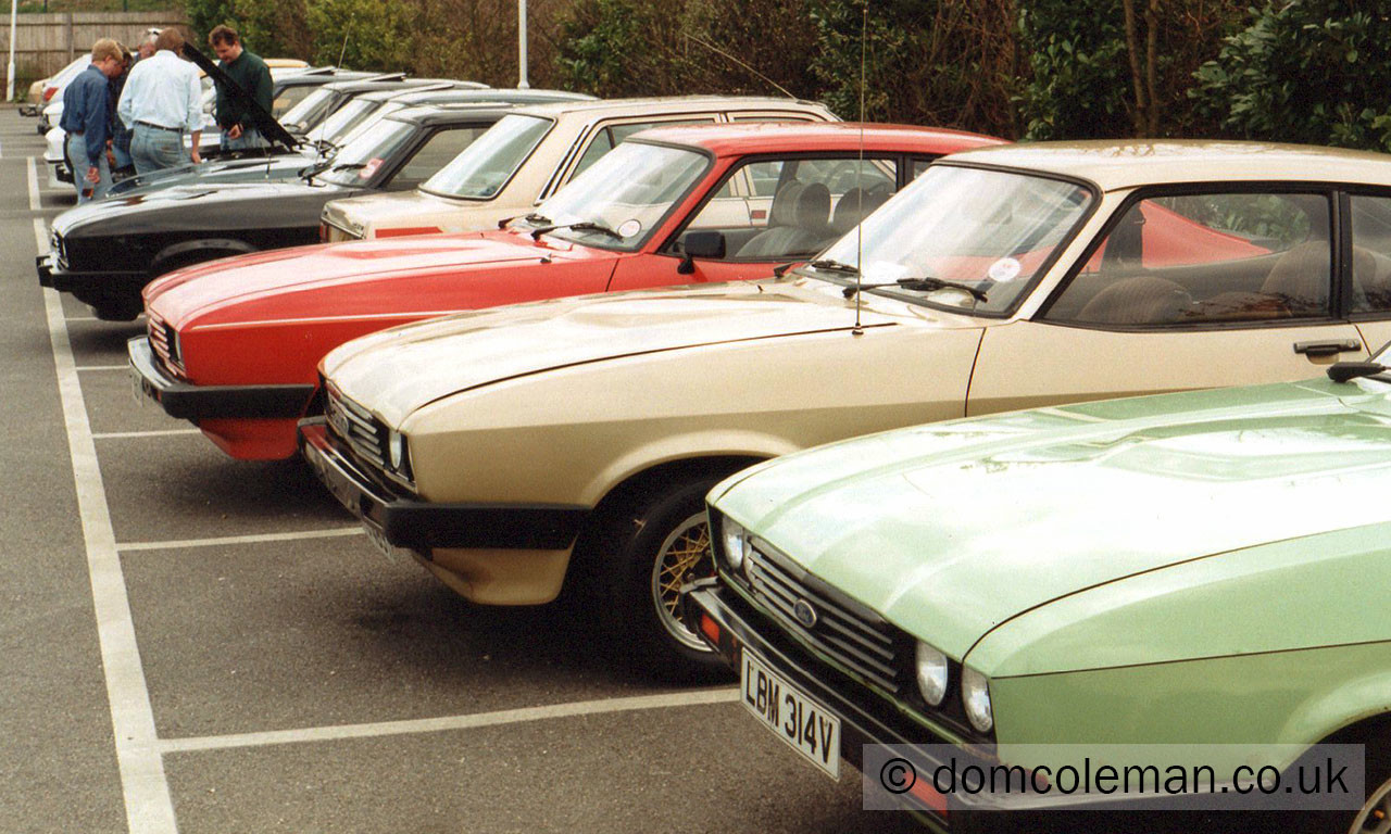 Hampshire Capri Club - Apr 1992