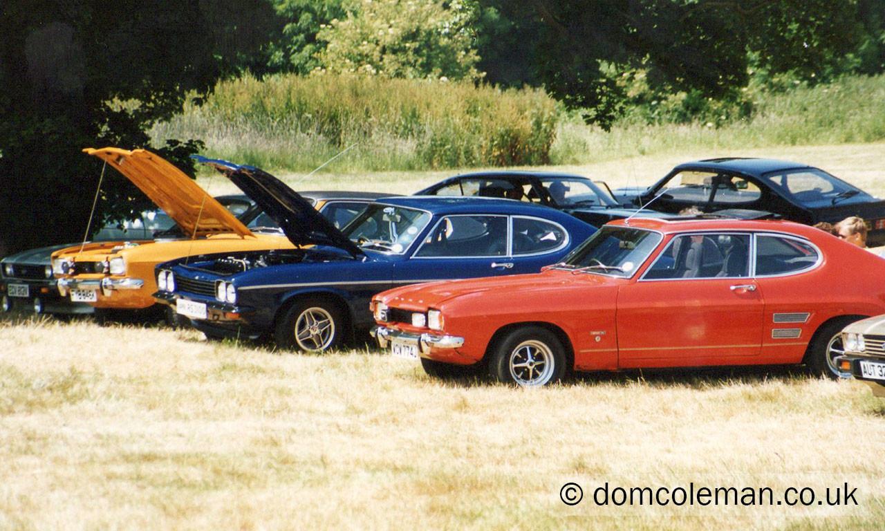 East Devon Capri club, Summer Mirage - June 1995