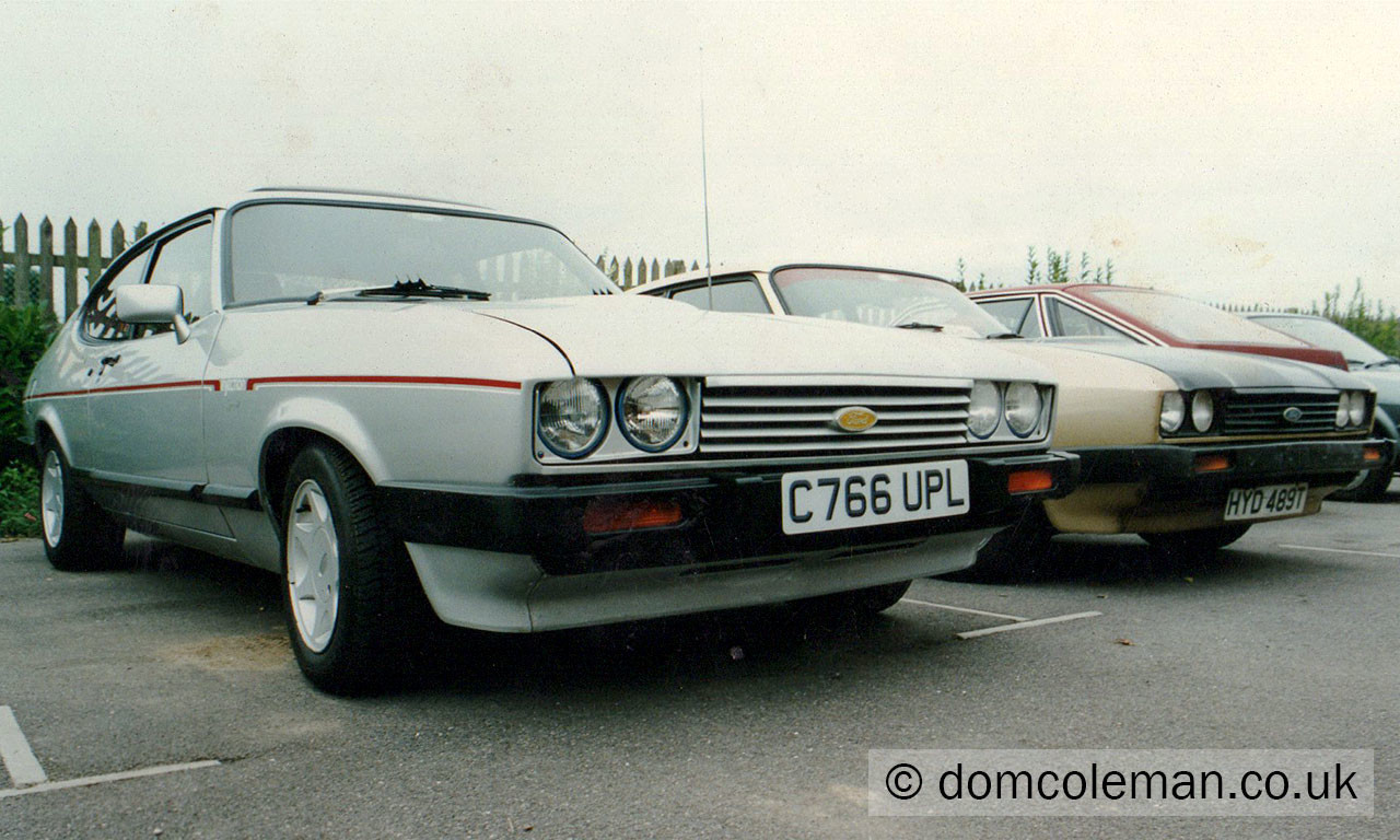 My Capri 2.8i - Aug 1994