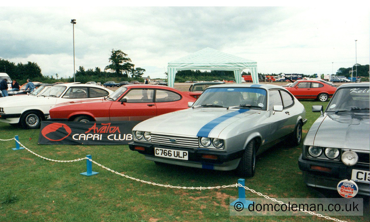 CCI National Concours Day, Exeter - May 1997