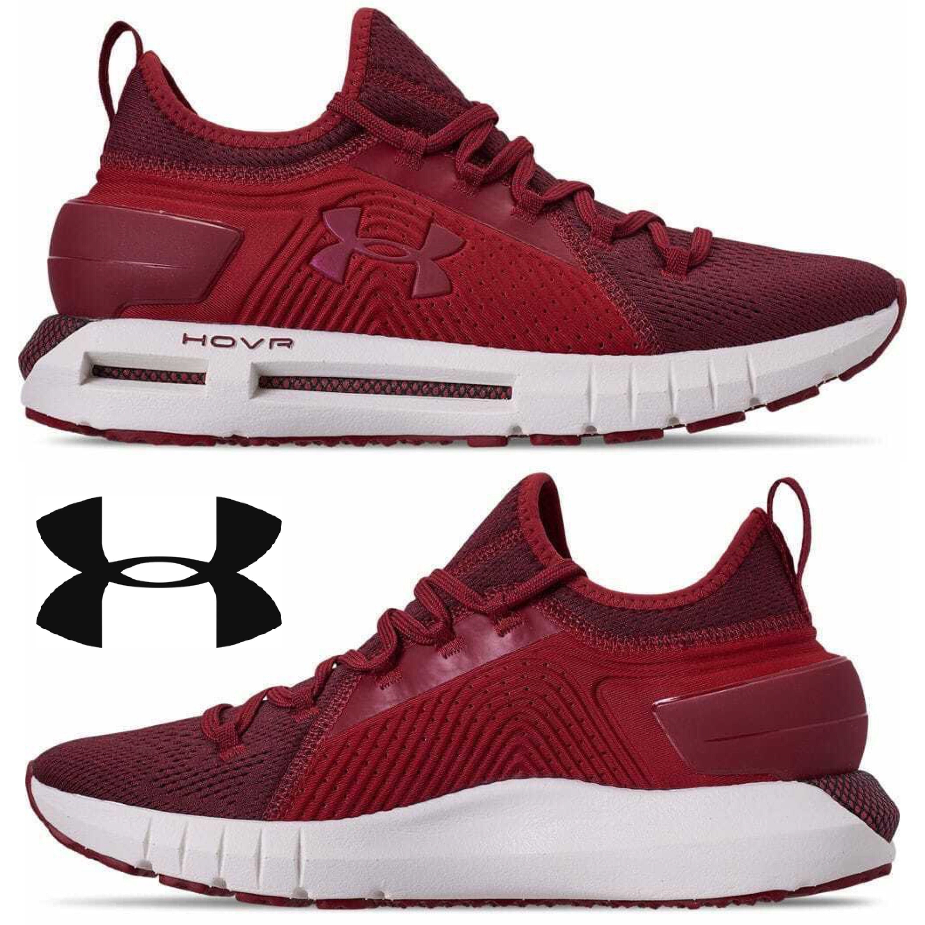 buy online 51182 d84d6 Details about Under Armour Hovr Phantom Men's Sneakers Running Comfort  Sport Gym Casual NIB