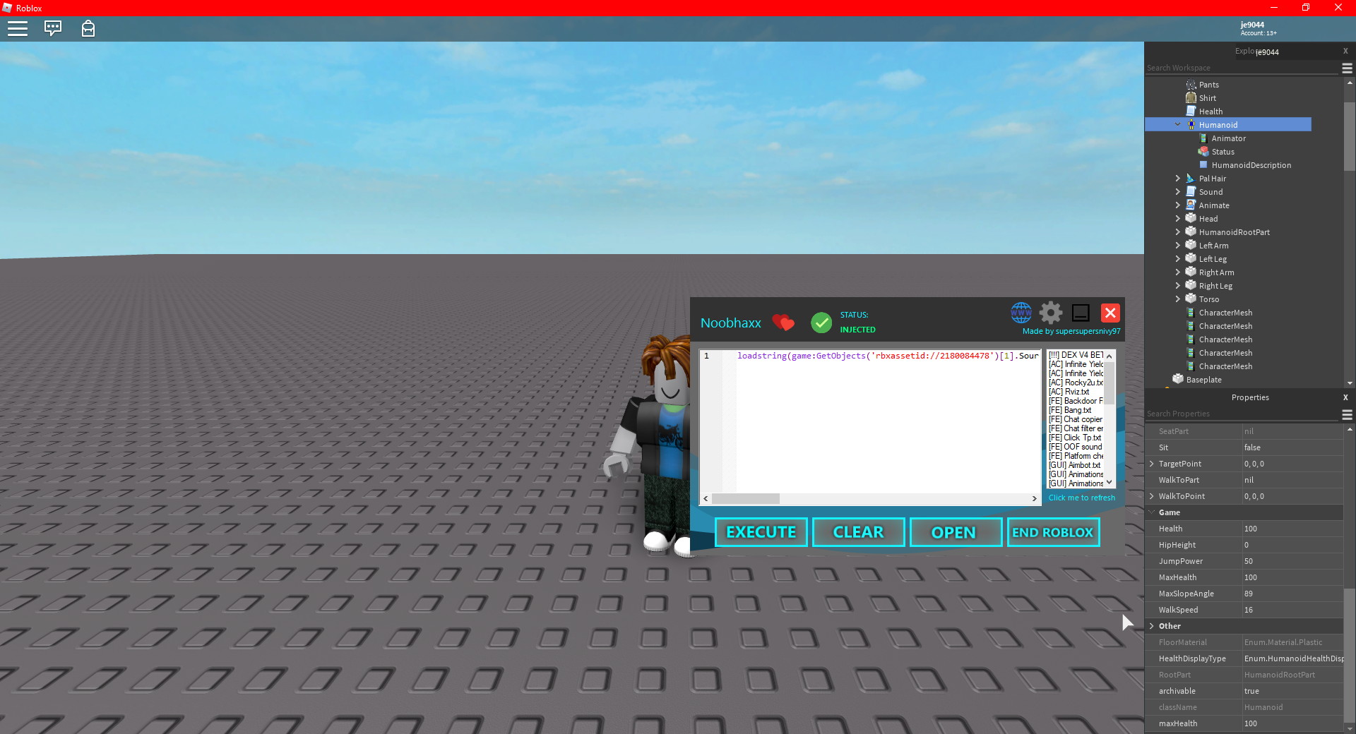 Roblox Lua Wrapper 3 Jan 15 2020 Updated Onsale Noobhaxx Unrestricted Lua Wrapper