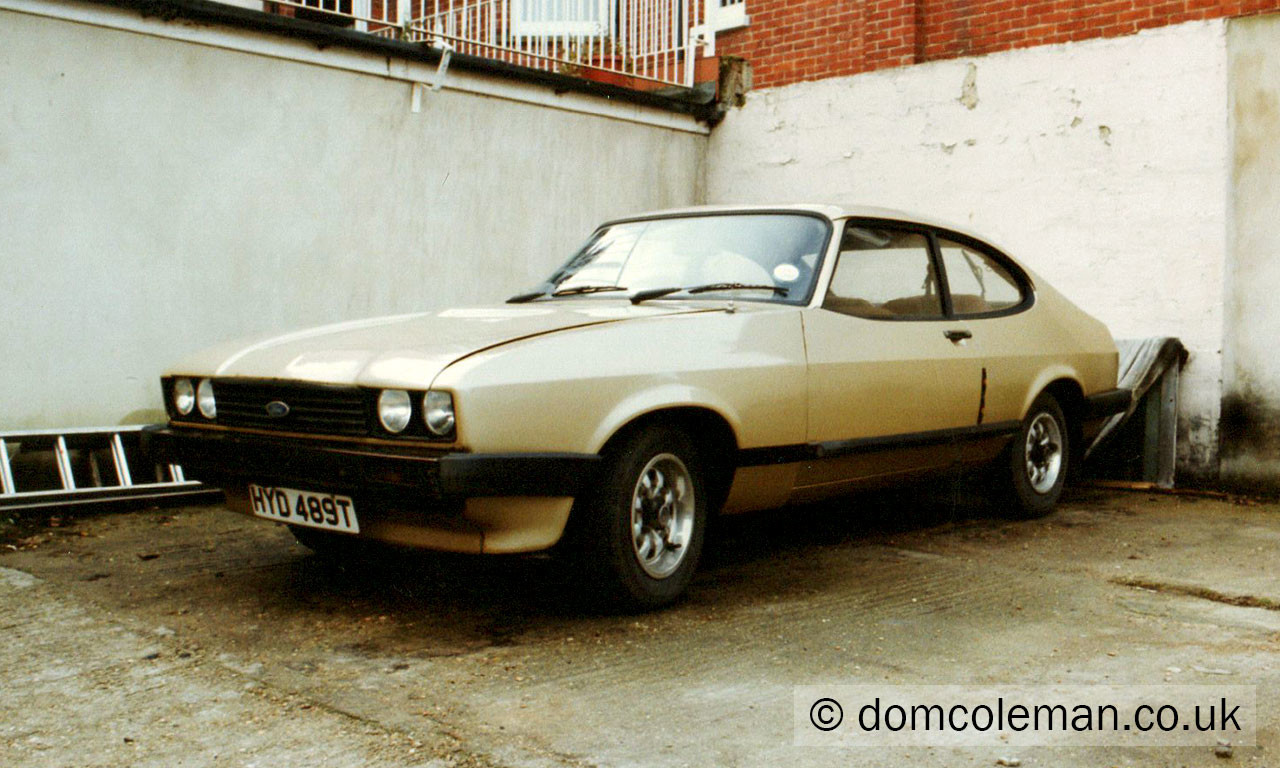 1979 Ford Capri 2.0 GL - Feb 1992