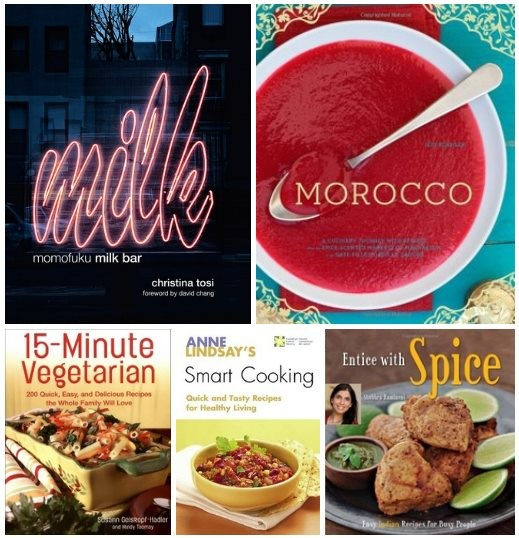 5 Cooking and Diets English eBooks