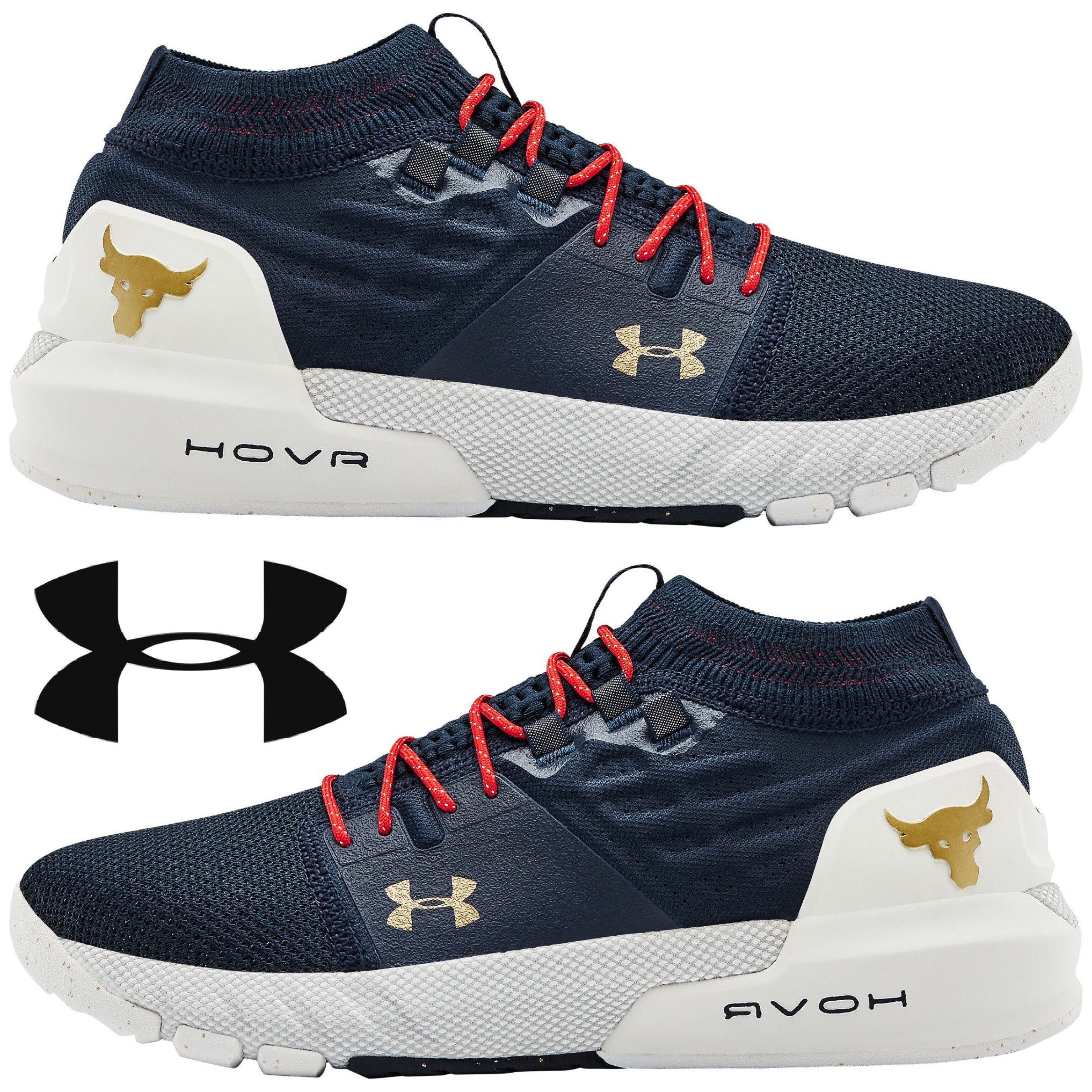 the rock under armour shoes