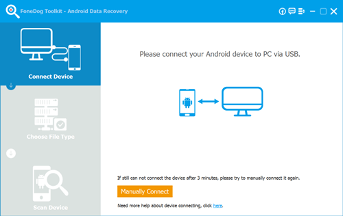 FoneDog Toolkit Android Data Recovery