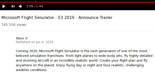 MS Flight Simulator 2019 (and glitches in the matrix) - MX Linux Forum