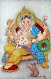The god Ganesha