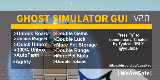 Ghost Simulator Update Autofarm Unlock All Gamepasses