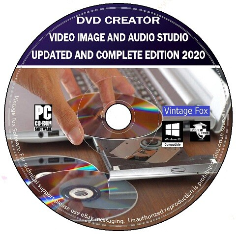 Dvd Creator Complete Edition Video Image Audio Editing Studio Software Pc Cd Ebay