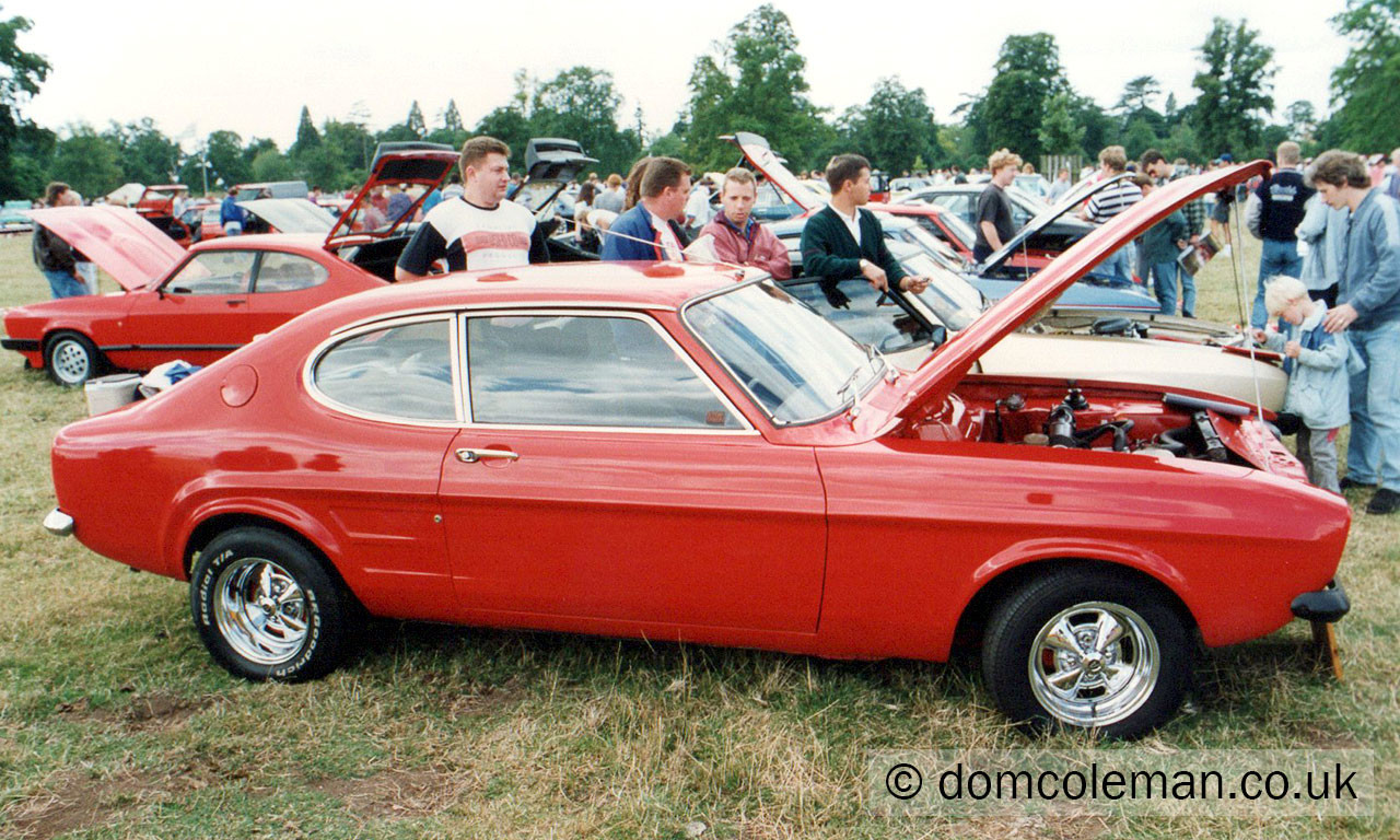Ford Fair at Blenheim Palace - Aug 1994
