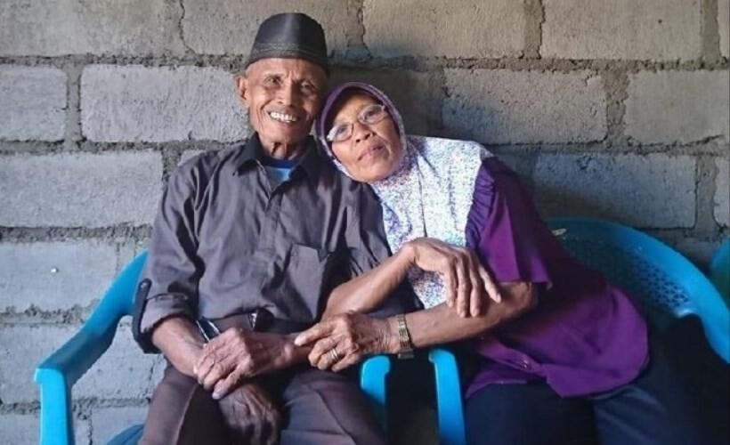 kakek nenek menikah