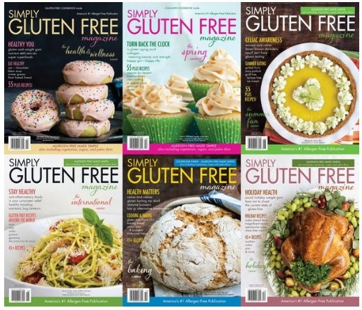 Simply Gluten Free - 2017 Full Year Issues Collection