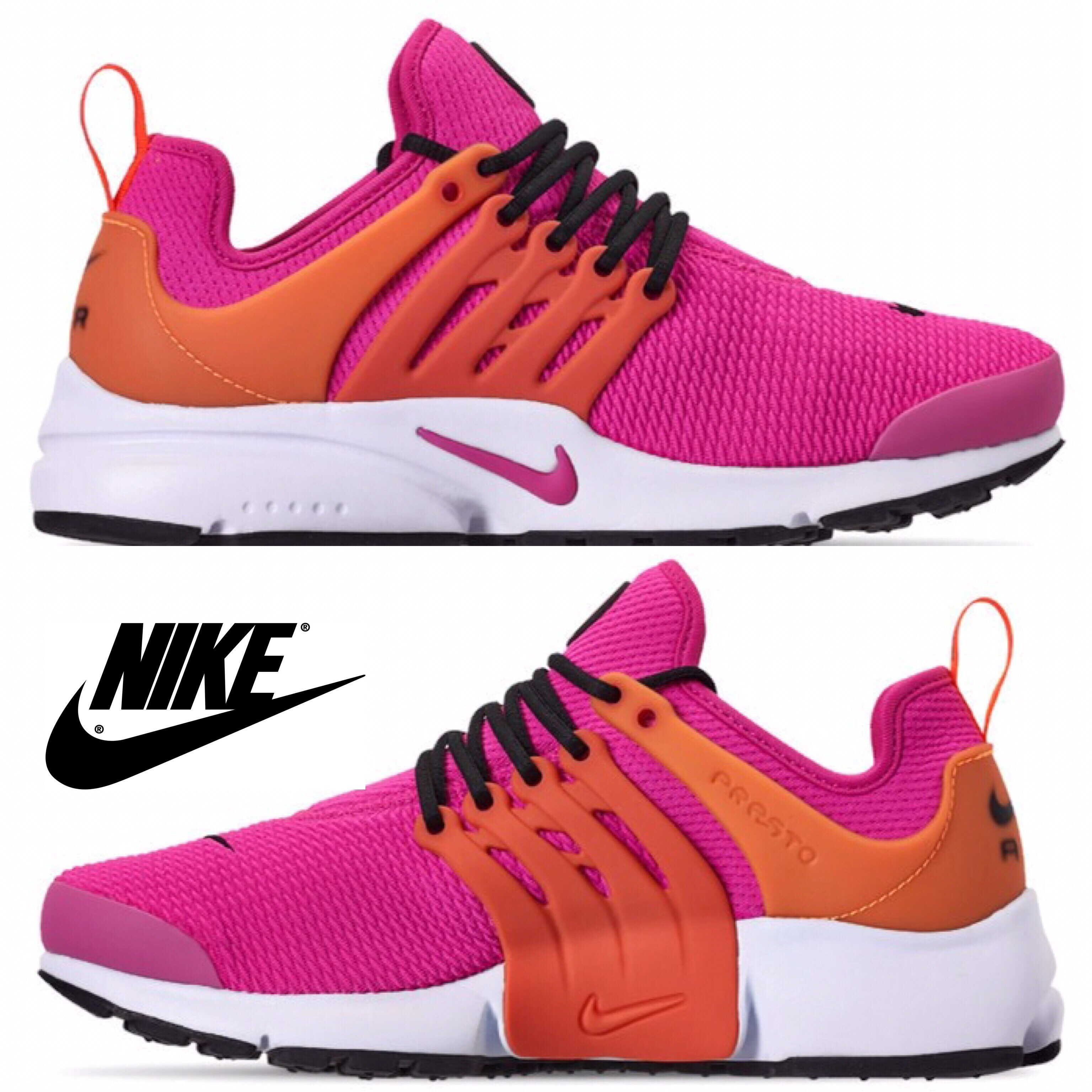 new style 83919 b1d16 Details about Nike Air Presto Women s Sneakers Sport Shoes Running Gym  Comfort Casual NIB