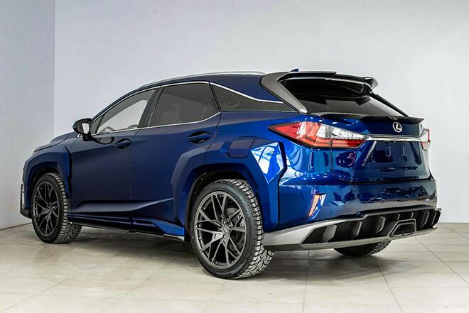 Hãng độ Nga tung gói nâng cấp widebody cho bộ đôi Lexus NX và RX - 4