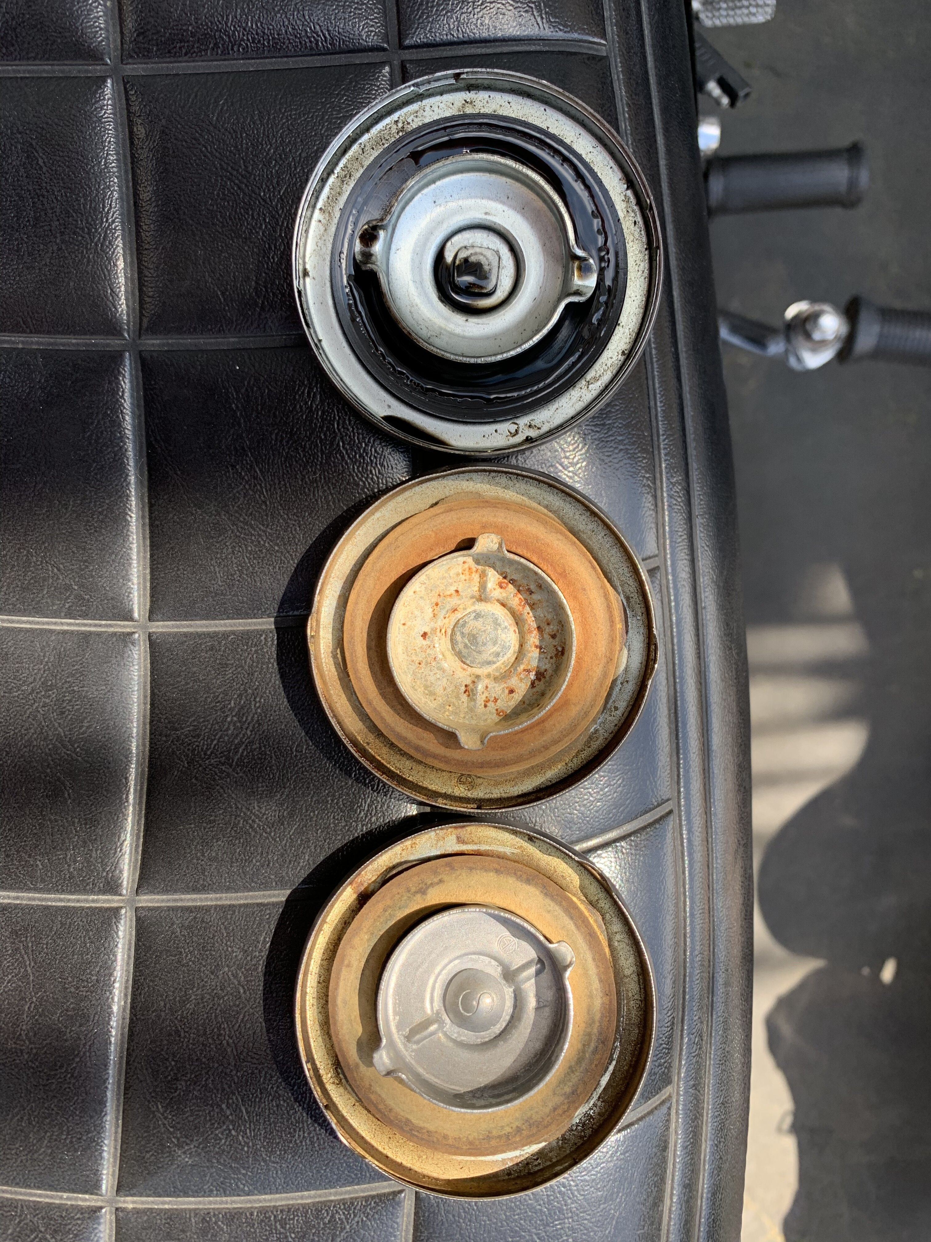 Opinions on my Oil and Gas Caps condition please